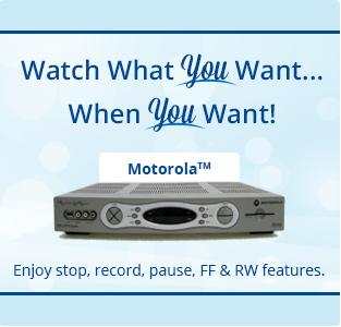 Motorola DVR Set Top Box
