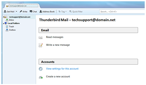 e mail configuration casscomm